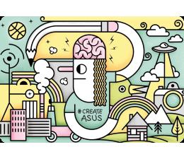 Naklejka na laptopa ASUS CreateAsUs Cover - W świecie Picasso