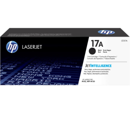 Toner do drukarki HP 17A black 1600 str.