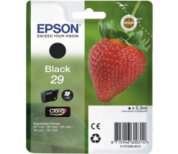 Tusz do drukarki Epson 29 black 175 str. (C13T29814010)