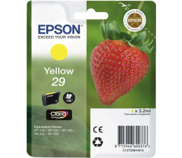 Tusz do drukarki Epson 29 yellow 180 str. (C13T29844010)