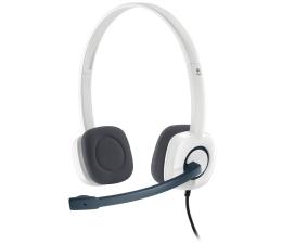 Słuchawki biurowe, callcenter Logitech H150 Cloud White