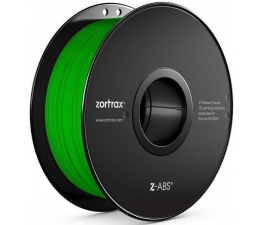 Filament do drukarki 3D Zortrax Z-ABS Green
