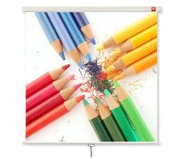Ekran projekcyjny Avtek Ekran ręczny 111' 200x200 1:1 Biały Matowy