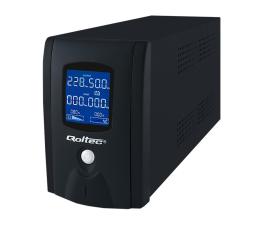 Zasilacz awaryjny (UPS) Qoltec Zasilacz awaryjny UPS 1000VA 600W LCD