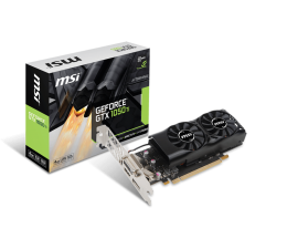 Karta graficzna NVIDIA MSI GeForce GTX 1050 Ti 4GT LP 4GB GDDR5