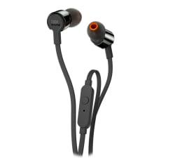 Słuchawki przewodowe JBL T210 Czarne