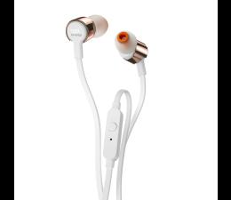 Słuchawki przewodowe JBL T210 Różowe złoto
