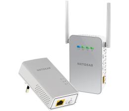 Adapter HomePlug (PLC) Netgear PLW1000 PowerLine LAN+WiFi AC 1000Mb/s (2 szt)