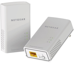 Adapter HomePlug (PLC) Netgear PL1000 PowerLine 1000Mb/s (2 sztuki)