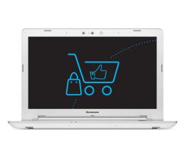 """Notebook / Laptop 15,6"""" Lenovo Z51-70 i5-5200U/4GB/1000/DVD-RW R9 M375 Biały"""