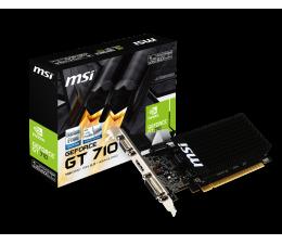 Karta graficzna NVIDIA MSI GeForce GT 710 Low Profile 1GB DDR3