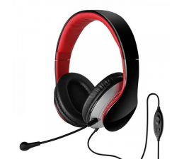 Słuchawki przewodowe Edifier K830 (czarno-czerwone)