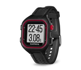 Zegarek sportowy Garmin Forerunner 25 czarno-czerwony