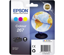 Tusz do drukarki Epson 267 kolor 200str. (C13T26704010)