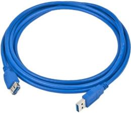 Kabel USB Gembird Przedłużacz USB 3.0 - USB 1,8m