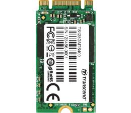 Dysk SSD  Transcend 128GB M.2 SATA SSD MTS400