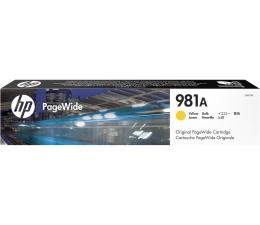Tusz do drukarki HP 981A yellow 6000str.