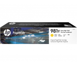 Tusz do drukarki HP 981Y yellow 16 000str.