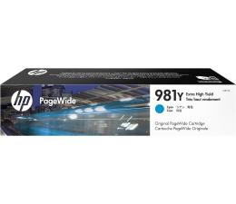 Tusz do drukarki HP 981Y cyan 16 000str.