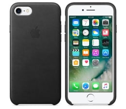 Etui / obudowa na smartfona Apple Leather Case do iPhone 7/8 Black