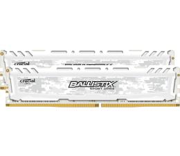 Pamięć RAM DDR4 Crucial 8GB 2400MHz Ballistix Sport LT White CL16 (2x4GB)