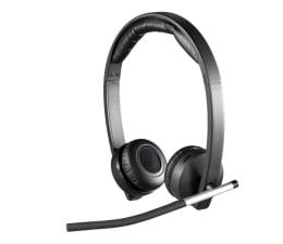 Słuchawki bezprzewodowe Logitech H820E Wireless Headset Dual z mikrofonem