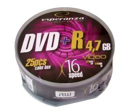 Płyta DVD+R Esperanza 4.7GB 16x CAKE 25szt.