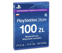 Abonament/PrePaid do konsoli Sony PlayStation Live Card PSN 100 PLN