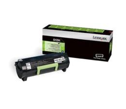 Toner do drukarki Lexmark 512H black 5000 str.