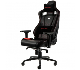 Fotel gamingowy noblechairs EPIC Gaming (Czarno-Czerwony)