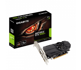 Karta graficzna NVIDIA Gigabyte GeForce GTX 1050 Ti Low Profile OC 4GB GDDR5