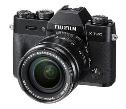 Bezlusterkowiec Fujifilm X-T20 18-55 mm czarny