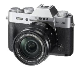 Bezlusterkowiec Fujifilm X-T20 16-50 mm srebrny