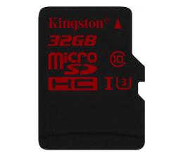 Karta pamięci microSD Kingston 32GB microSDHC UHS-I U3 zapis 80MB/s odczyt 90MB/s