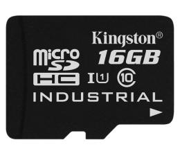 Karta pamięci microSD Kingston 16GB microSDHC UHS-I zapis 45MB/s odczyt 90MB/s
