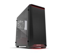 Obudowa do komputera Phanteks Eclipse P400 Tempered Glass czarno-czerwona