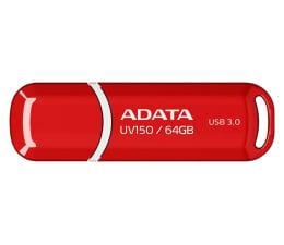 Pendrive (pamięć USB) ADATA 64GB DashDrive UV150 czerwony (USB 3.1)