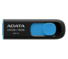 Pendrive (pamięć USB) ADATA 16GB DashDrive UV128 czarno-niebieski (USB 3.1)