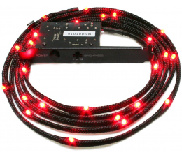 Przewód świecący NZXT Zestaw oświetlający LED czerwony 2m