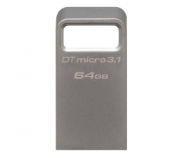 Pendrive (pamięć USB) Kingston 64GB DataTraveler Micro 3.1 (USB 3.1) 100MB/s