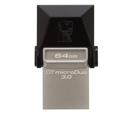 Pendrive (pamięć USB) Kingston 64GB DataTraveler microDuo (USB 3.0) OTG