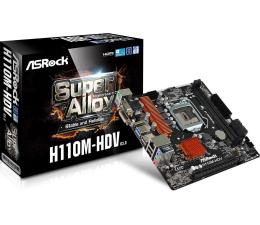 Płyta główna Socket 1151 ASRock H110M-HDV R3.0 (PCI-E DDR4 USB3.0)