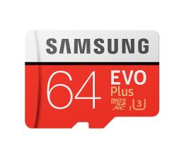 Karta pamięci microSD Samsung 64GB microSDXC Evo Plus zapis60MB/s odczyt100MB/s