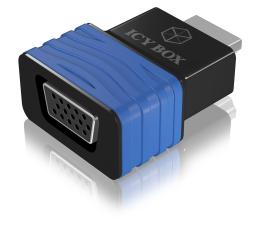 Przejściówka ICY BOX Adapter VGA - HDMI