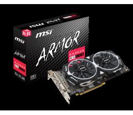 Karta graficzna AMD MSI Radeon RX 580 ARMOR OC 8GB GDDR5