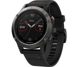 Zegarek sportowy Garmin Fenix 5 Stalowoszary z Czarnym Paskiem