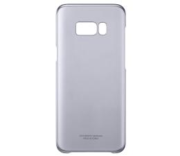 Etui / obudowa na smartfona Samsung Clear Cover do Galaxy S8+ fioletowy