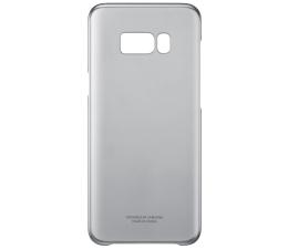 Etui / obudowa na smartfona Samsung Clear Cover do Galaxy S8+ czarny