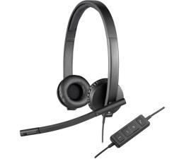 Słuchawki biurowe, callcenter Logitech H570e Headset Stereo z mikrofonem