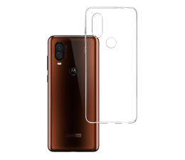 3mk Clear Case do Motorola One Vision